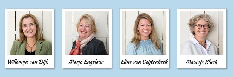 Willemijn, Marjo, Eline, Maartje