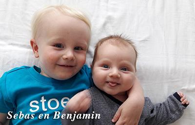 Sebas en Benjamin
